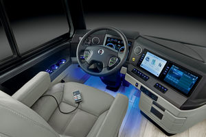 Class A Motorhome Cockpit