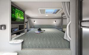 Truck Camper Comfy Bed