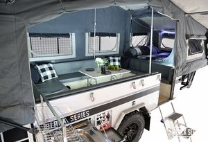Pop Up Camper Roomy interior