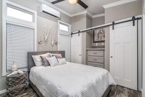 Park Model Large Bedroom