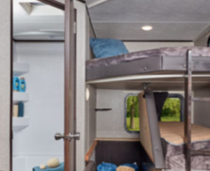 travel trailer bunk bed